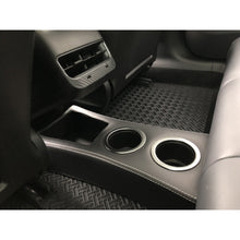 "Easy-Install ""Model 3 Rear Floor"" Cup Holder/Console"