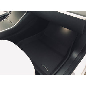 "Carbon Fiber ""Model 3"" All-weather Interior Set"
