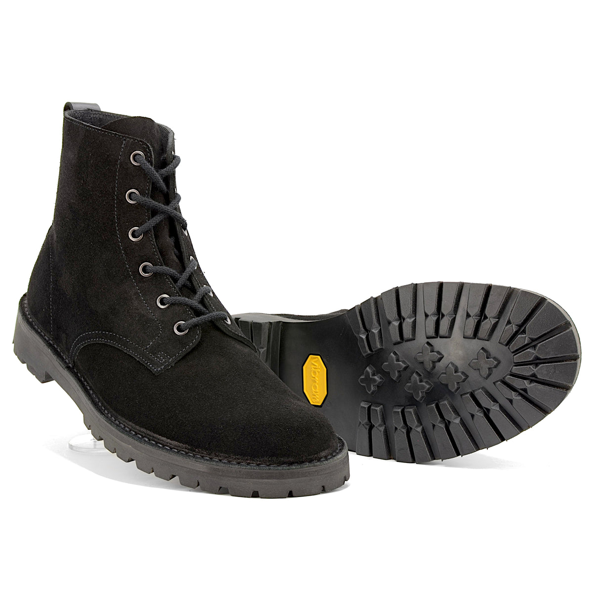 Black Desert Boots Vibram soles - Made in England