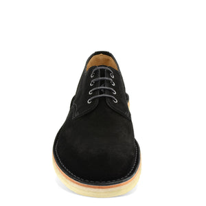 Desert Shoe Black Suede