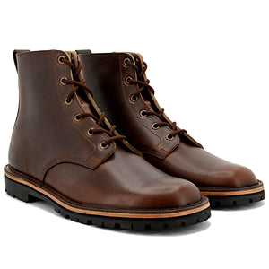Horween Chromexcel Brown Boots - Made in England - JADD Shoes