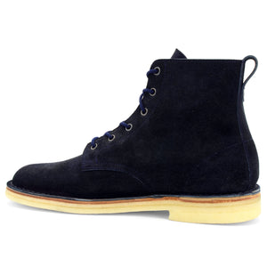 Desert Hi-Top Navy Suede
