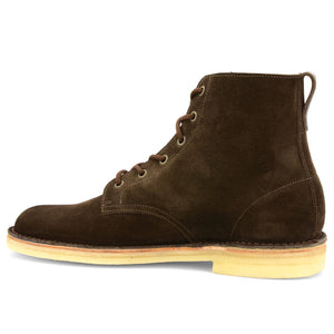 Desert Hi-Top Brown Suede
