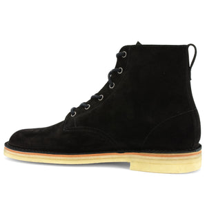 Desert Hi-Top Black Suede