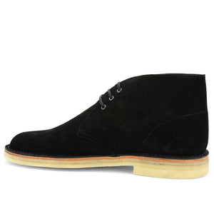 Desert Boot Black Suede