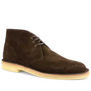 Desert Boots Brown Suede Made in England