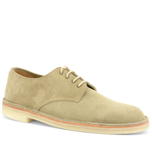Stitchdown Desert Shoe Sand Suede Made in England