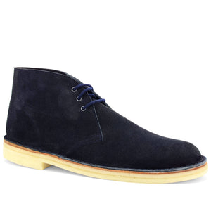 Desert Boots Navy Suede Made in England