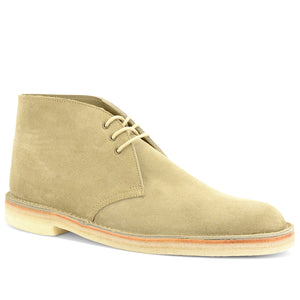 Stitchdown Desert Boot Sand Suede Made in England