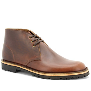 Brown Horween Desert Boots - Made in England