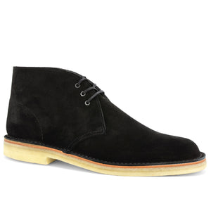 Desert Boots Black Suede Made in England