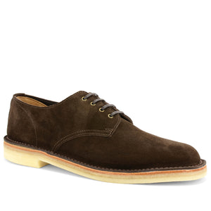 Desert Shoes Brown Suede Made in England