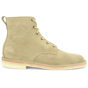 Stitchdown Desert Hi Top Boot Sand Suede