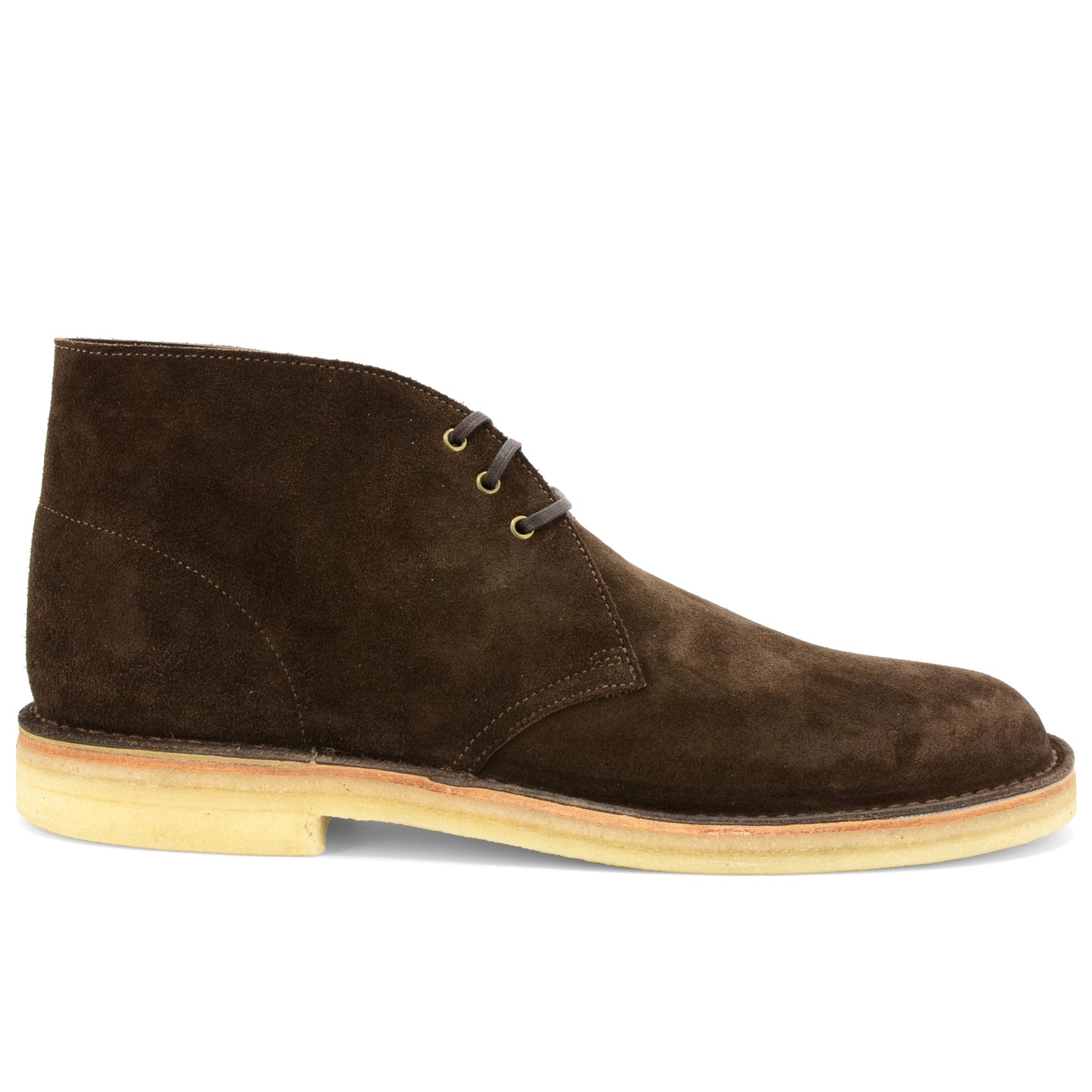 Desert Boot Brown Suede Made in England