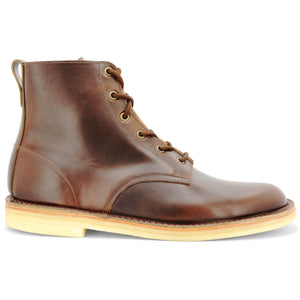 Desert Hi Top Boot Horween Brown Made in England