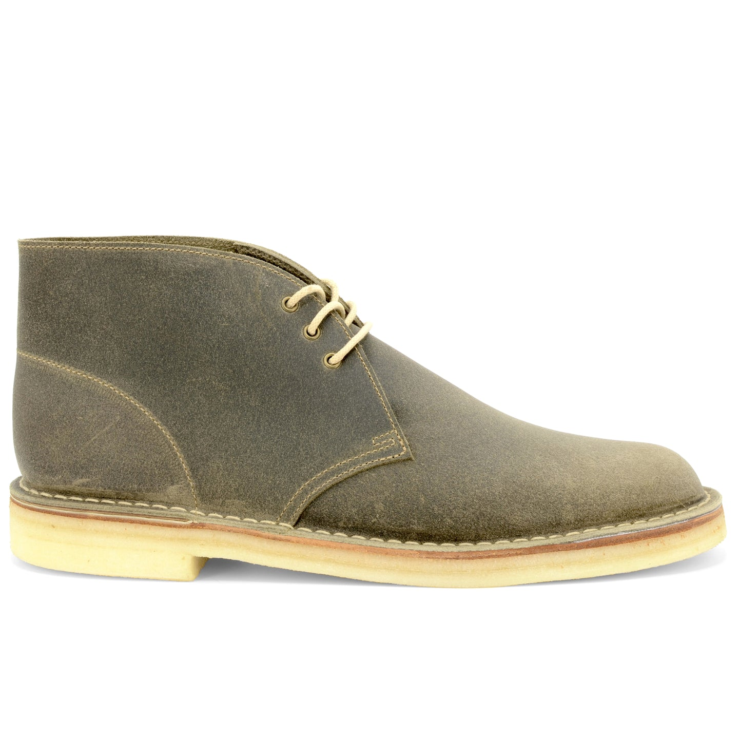 Desert Boot Stone Waxy Made in England