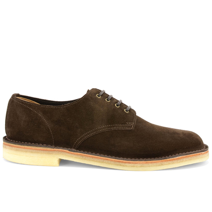Desert Shoe Brown Suede Made in England
