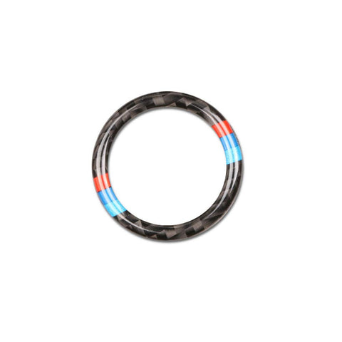 BMW Carbon Fiber M Series Start Button Trim Fit - E Series