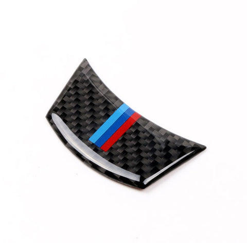 BMW 3D Carbon Fiber M Series Steering Wheel Trim Fit - E-Series