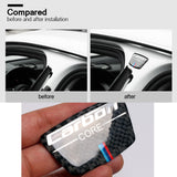 BMW 3D Carbon Fiber M Series Steering Wheel Trim