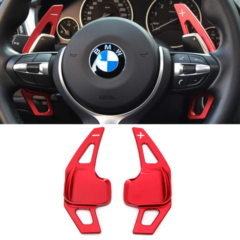 BMW Aluminum Paddle Shifter Extensions - Red