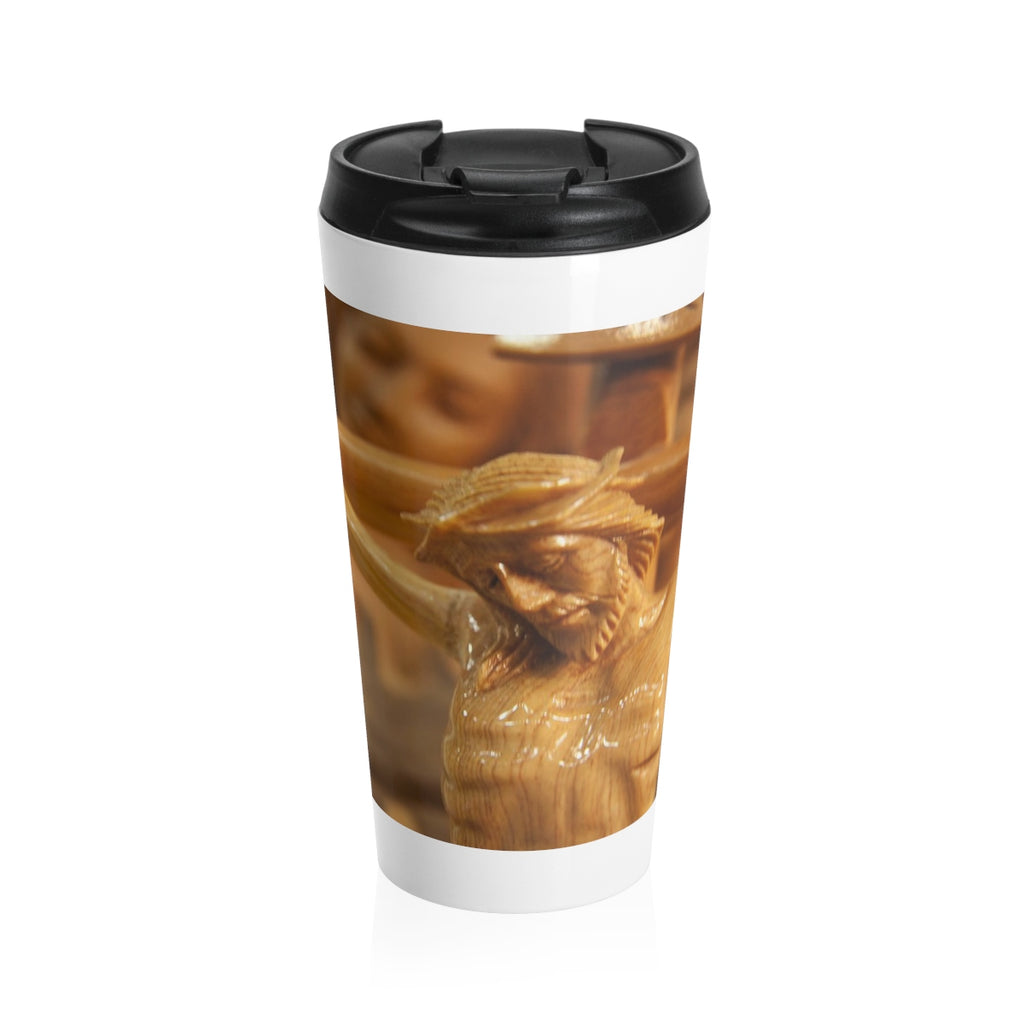 Jesus Crucified Stainless Steel Travel Mug