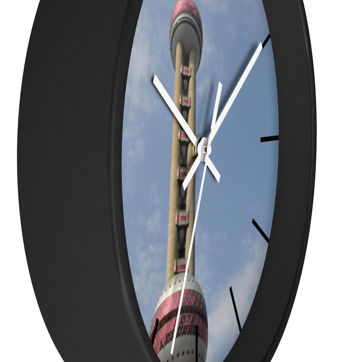 Chinese T.V. Tower (Oriental Pearl) Wall clock