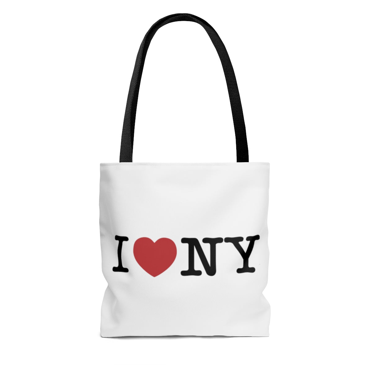I Love NY AOP Tote Bag