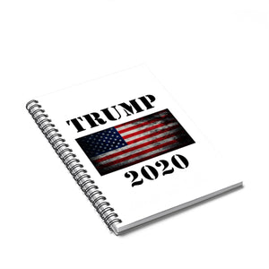Trump 2020 Spiral Notebook - Ruled Line