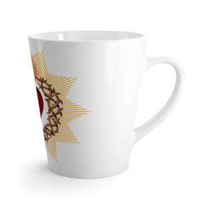 Sacred Heart of Jesus Latte mug