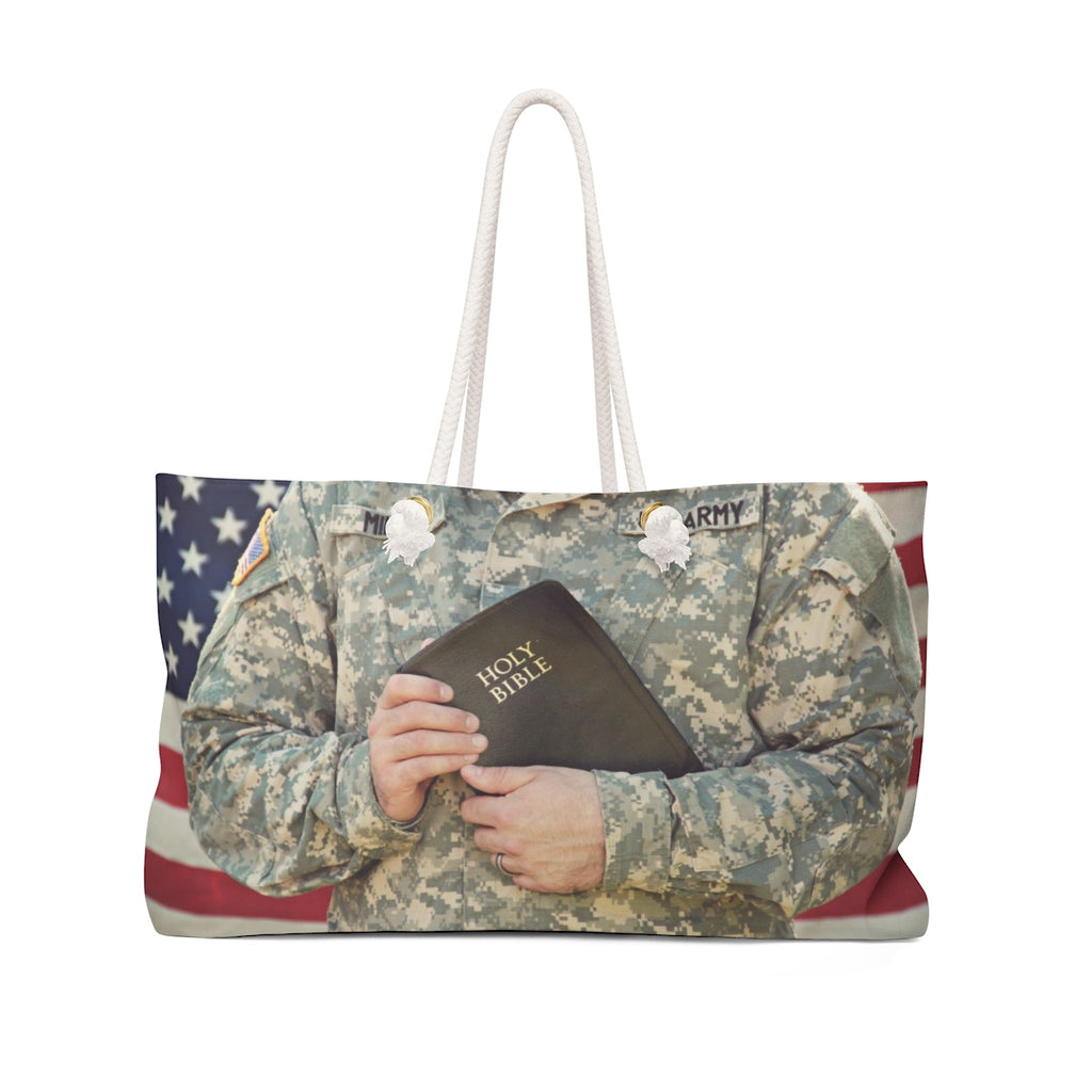 Army Bible Weekender Bag
