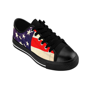 American Flag Men's Sneakers (runs small, order one size larger)