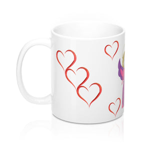 Angel Hearts Mug 11oz by Lai Lai