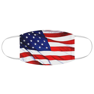 American Flag Fabric Face Mask