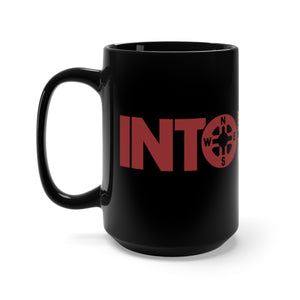 Into the Wild Black Mug 15oz