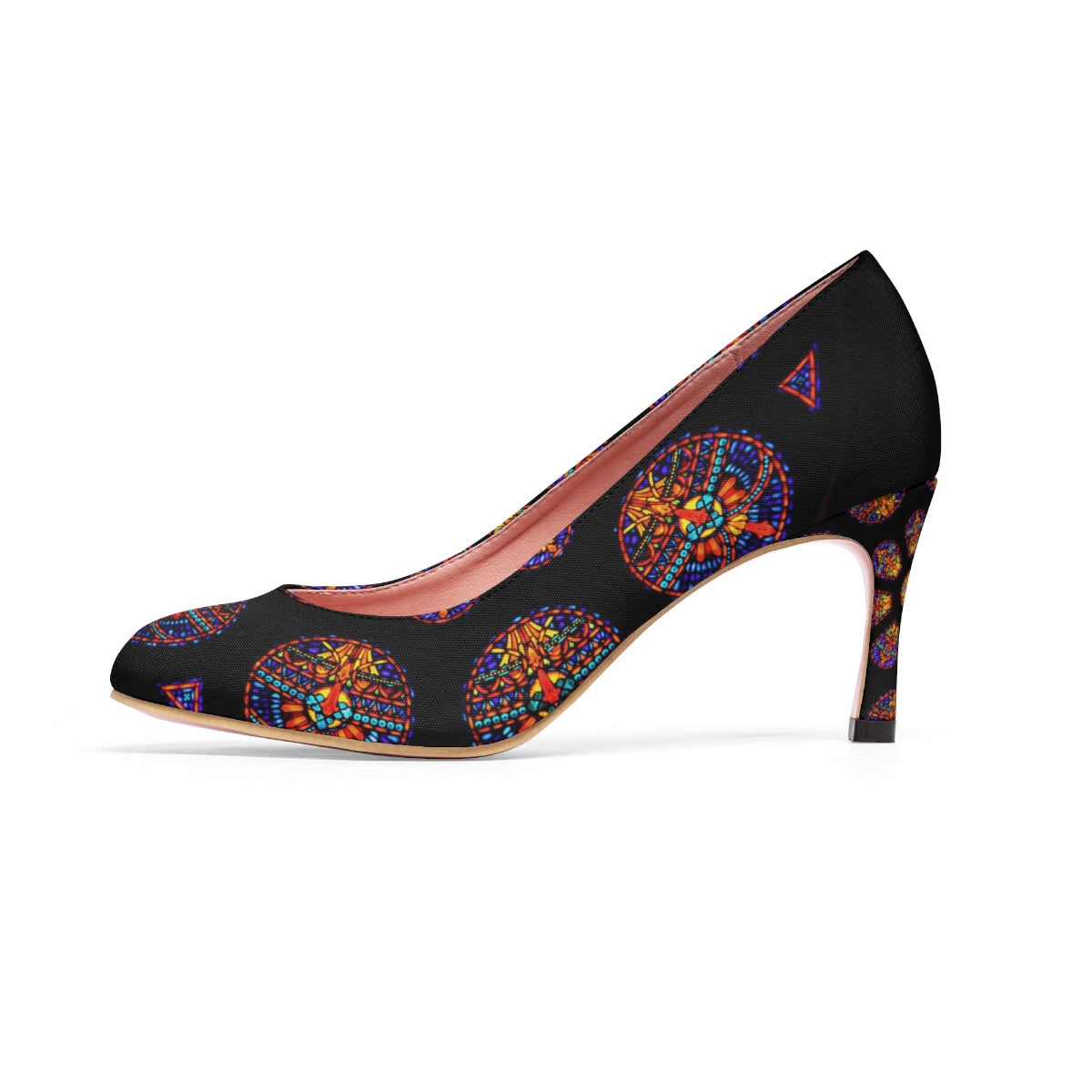 Rose Window Women's High Heels
