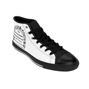 Dale Campos Men's High-top Sneakers (order one size larger than needed)