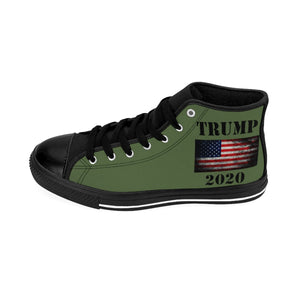 Trump 2020 Men's High-top Sneakers (order up one size larger)
