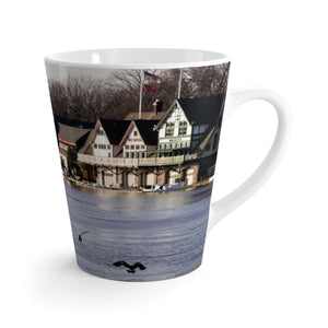 Philly Boat House Row Latte mug