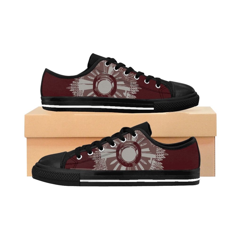 Monstrance Drawing Women's Sneakers