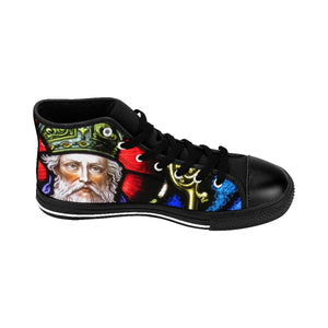 Saint Patrick II Men's High-top Sneakers (order one size larger, runs small)
