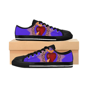 Men's Sacred Heart Sneakers (order one size larger than needed)