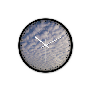 Clouds Non-Ticking Silent Wall Clock (free shipping!)