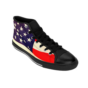 Women's Patriotic High-top Sneakers