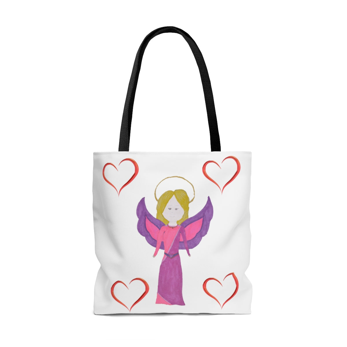 Angel AOP Tote Bag By Lai Lai
