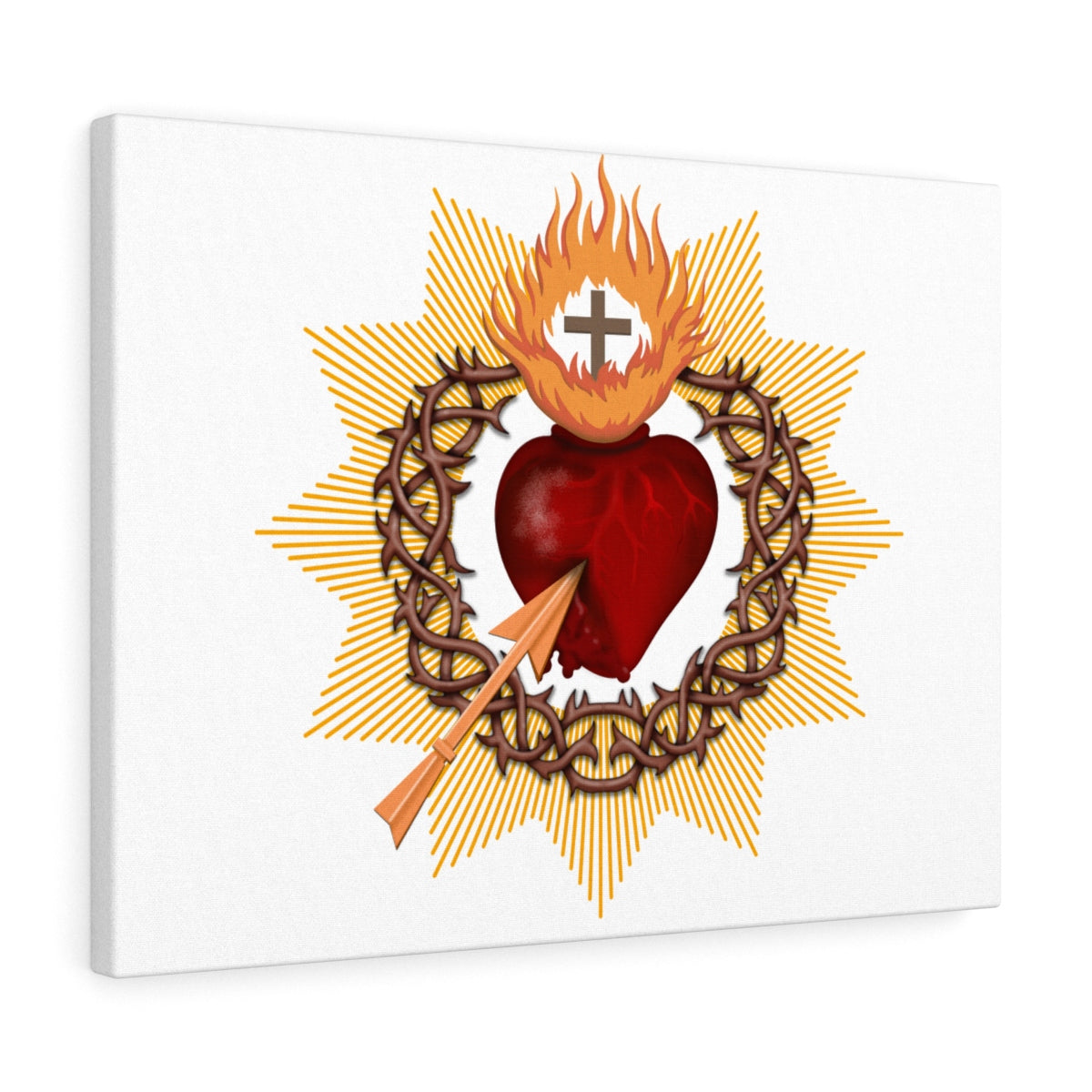 Sacred Heart Canvas Gallery Wraps