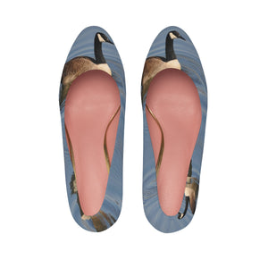 Goose/Blue Water Women's High Heels