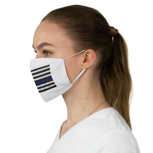 Police Flag Fabric Face Mask