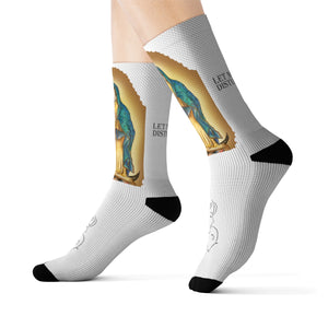 Our Lady Guadelupe Sublimation Socks