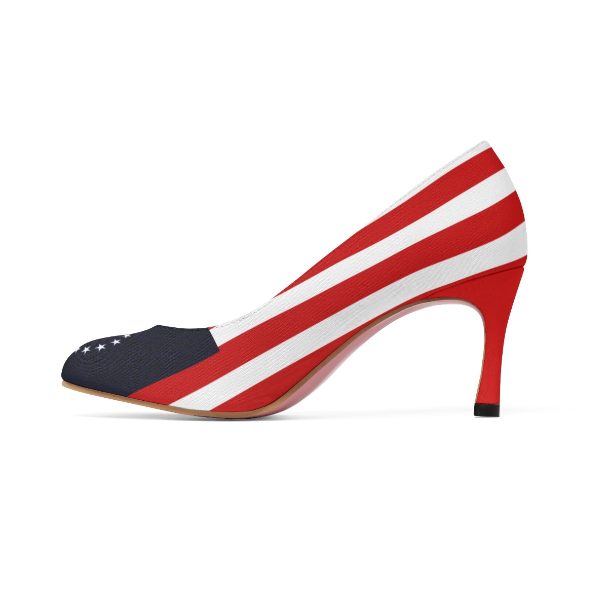 Betsy Ross (clean flag) Women's High Heels